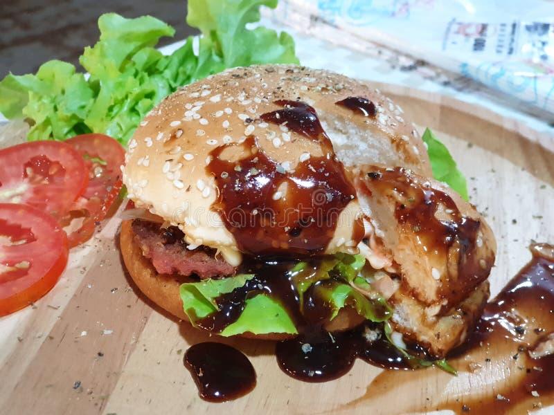 Hamburger photographie stock