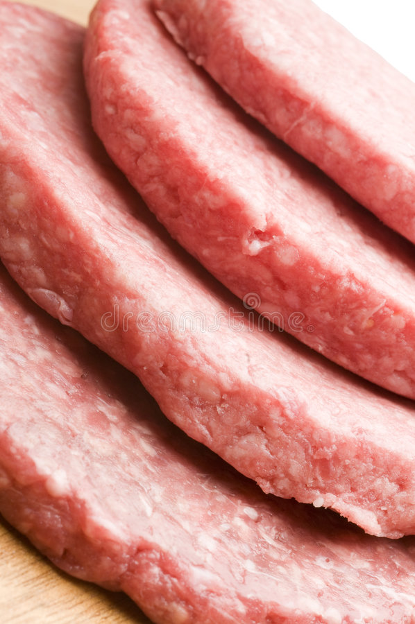 Download Hamburger patties stock photo. Image of shaped, butcher - 7374682