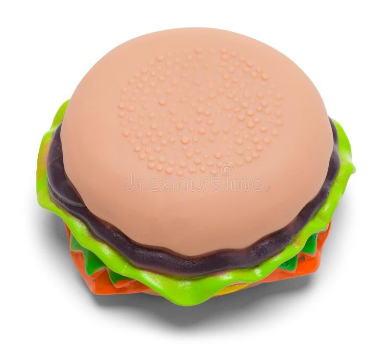 Hamburger-Spielzeug stockbilder