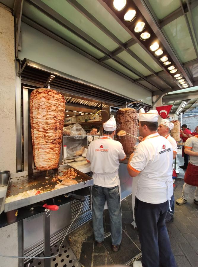 Hamburger Taksim de K?z?lkayalar, Istambul fotos de stock royalty free