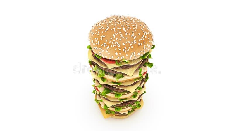 Hamburger Tower Stock Illustrations – 105 Hamburger Tower