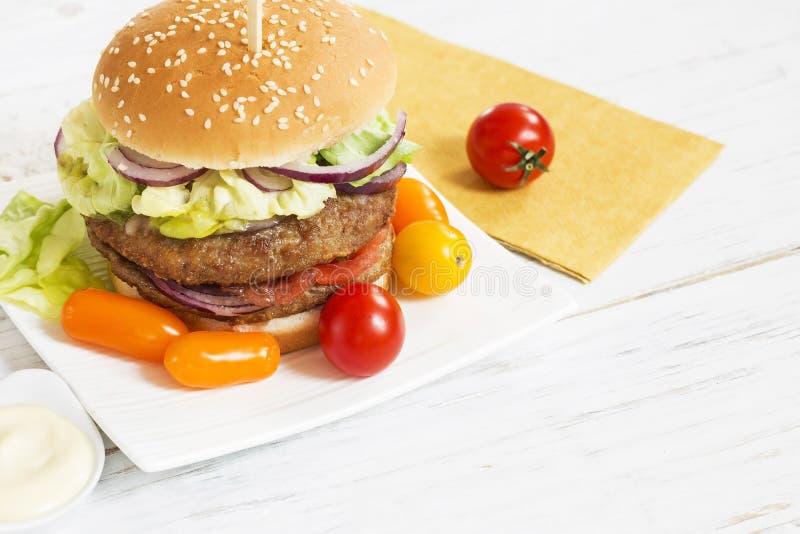 Hamburger stock foto