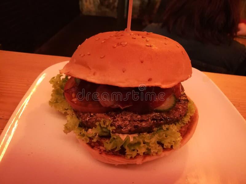 Hamburger w Kolonia obraz royalty free