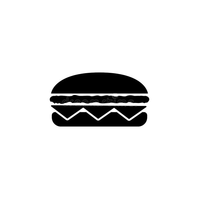 Hamburgerpictogram Element van eenvoudig pictogram voor websites, Webontwerp, mobiele app, informatiegrafiek Tekens en symbolenin stock illustratie