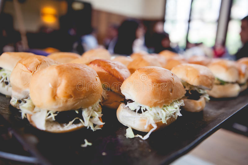 Hamburgers photo stock