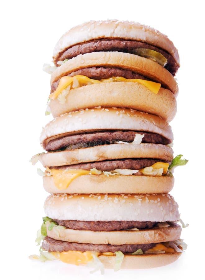 Hamburgers stock foto