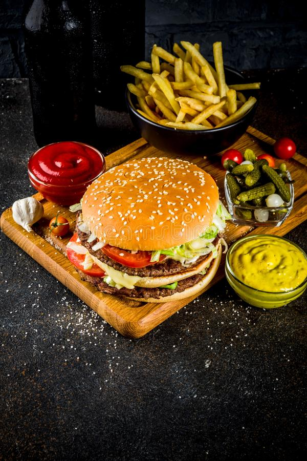 hamburgers and party snacks stock photo image of dinner cheddar