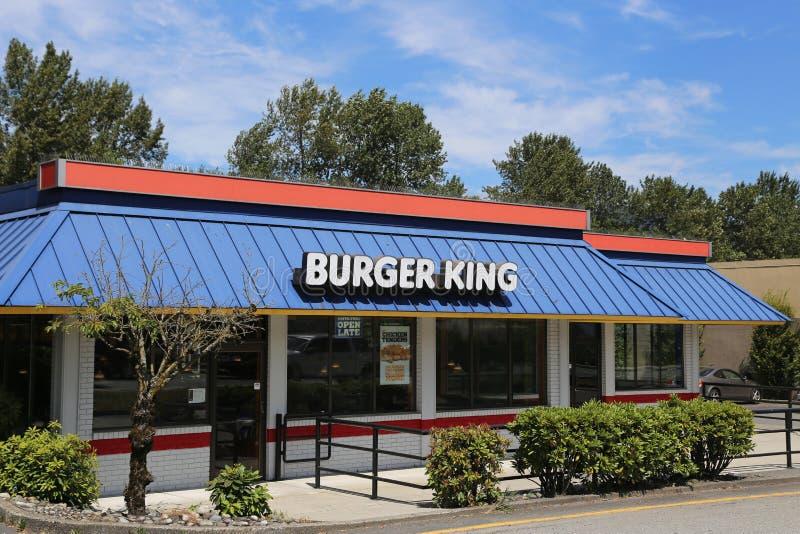 Hamburgeru królewiątko zdjęcia royalty free