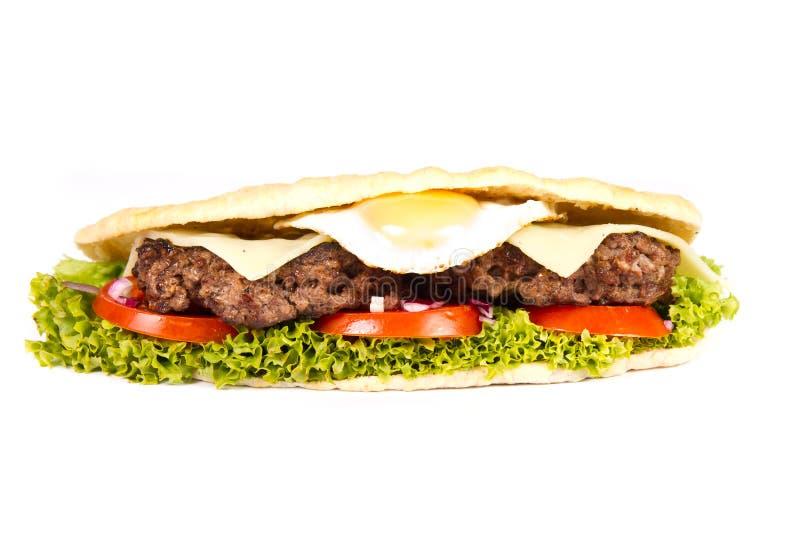 Hamburgeru okręt podwodny zdjęcie royalty free