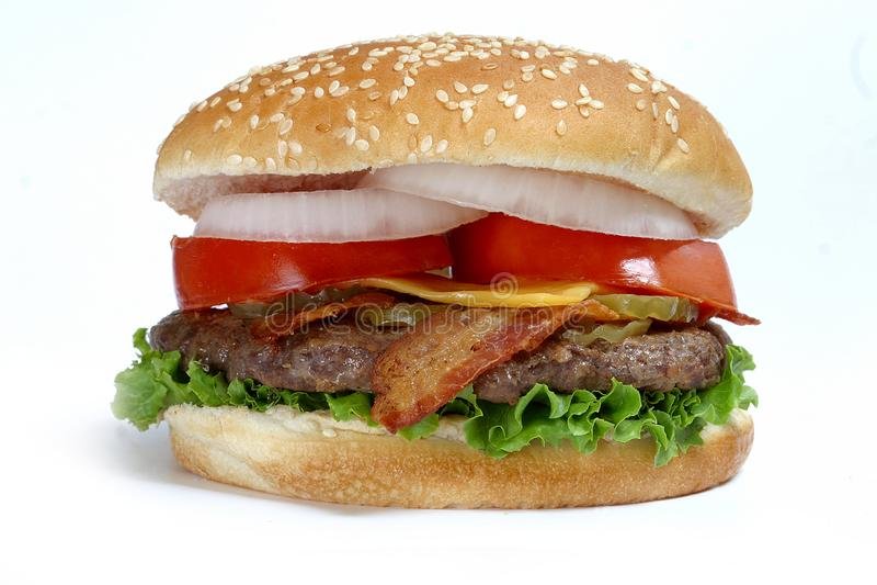hamburgery ćwierć kilo obrazy stock