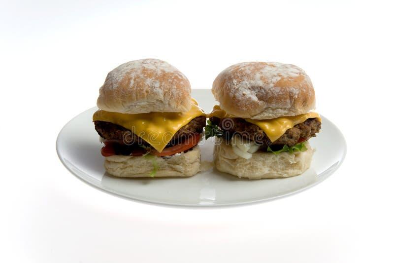 hamburgery zdjęcia stock