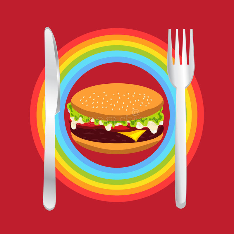 hamburgery fotografia stock
