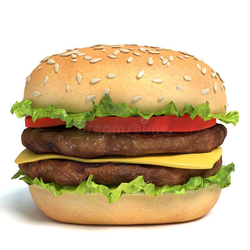 hamburgery ilustracja wektor
