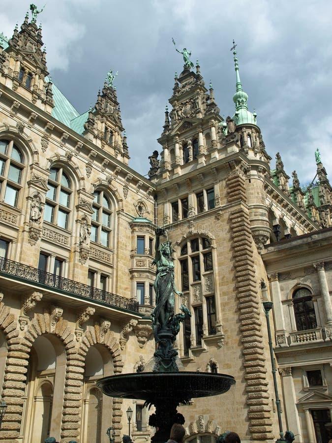 Hamburgo foto de archivo