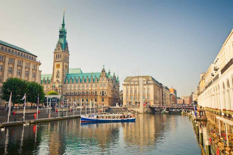 Hamburgo foto de archivo libre de regalías