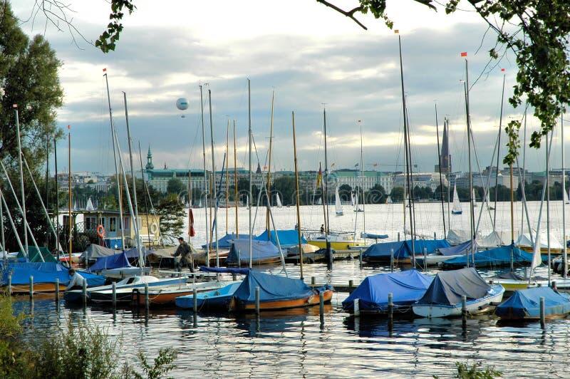 Download Hamburgo Alster2 foto de stock. Imagem de cidade, hamburgo - 531812