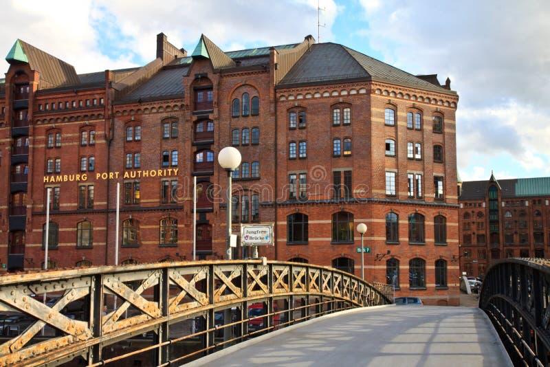 Hamburgo, puerto imagenes de archivo