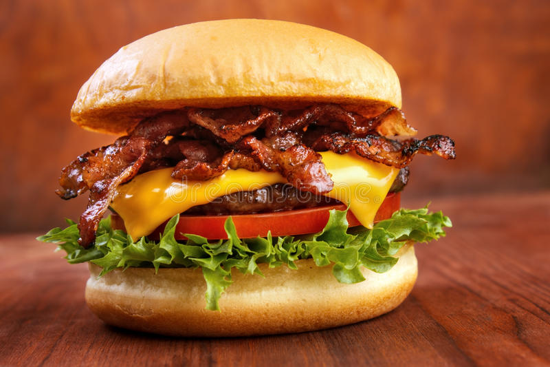 Hamburguer do bacon