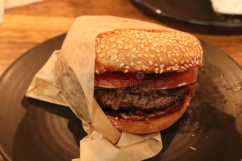 hamburgueres foto de stock