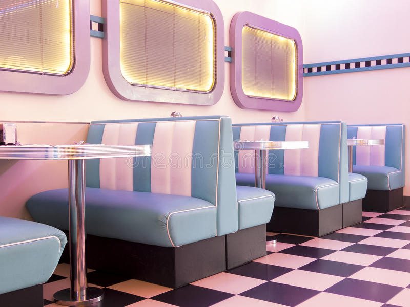 hamburguesa del estilo 50s fotos de archivo
