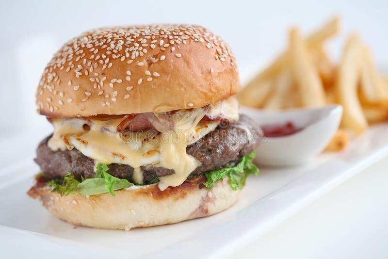 hamburguesas imagen de archivo libre de regalías