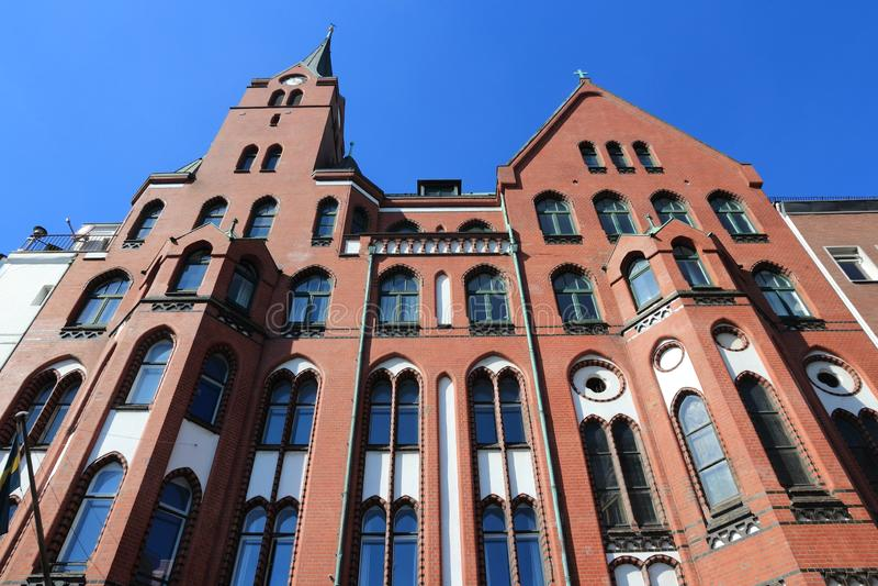 Hamburski punkt zwrotny fotografia royalty free