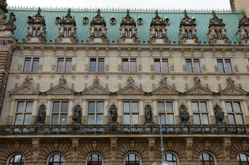 Hamburski urząd miasta obrazy stock