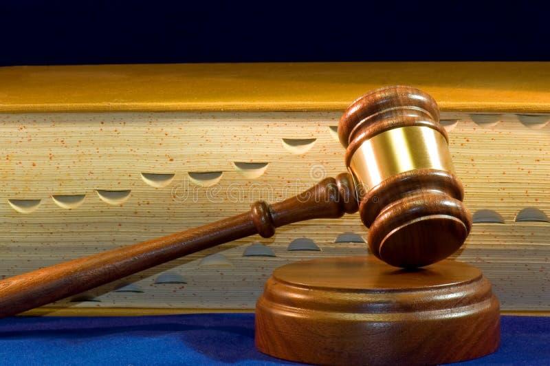 Hamer voor wetsboek stock fotografie