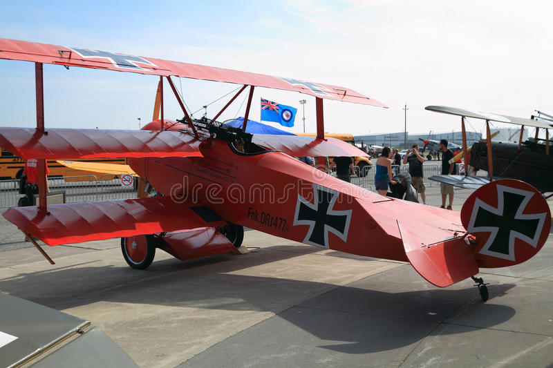Hamilton Airshow 2011, June 18. stock photo