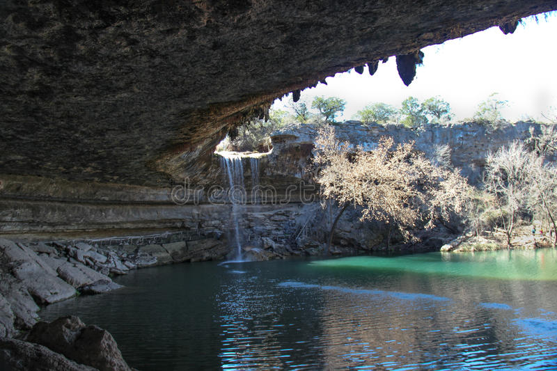 Hamilton basen, Teksas wzgórza kraj fotografia royalty free