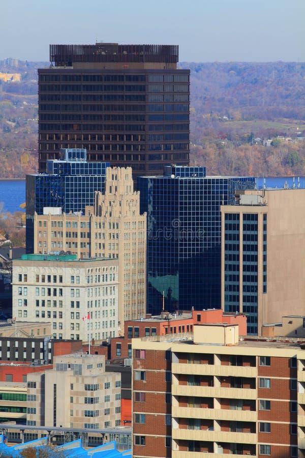 Hamilton céntrica, Ontario, Canadá. imagen de archivo