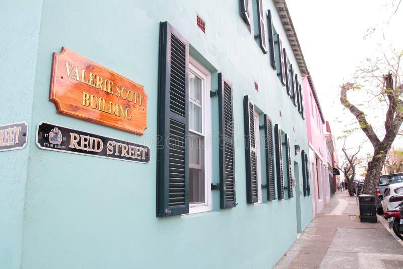 Hamilton, de Bermudas stock foto