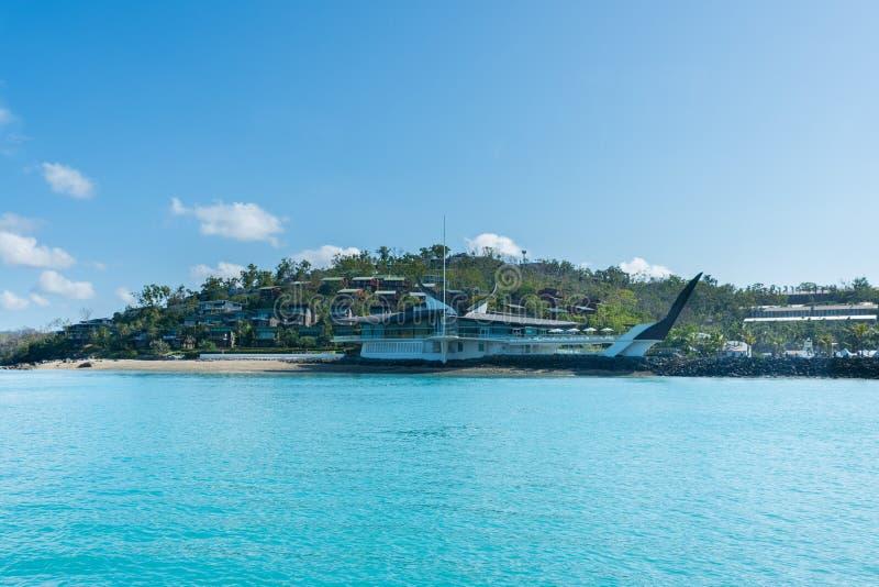 Hamilton Island, Australië stock afbeelding