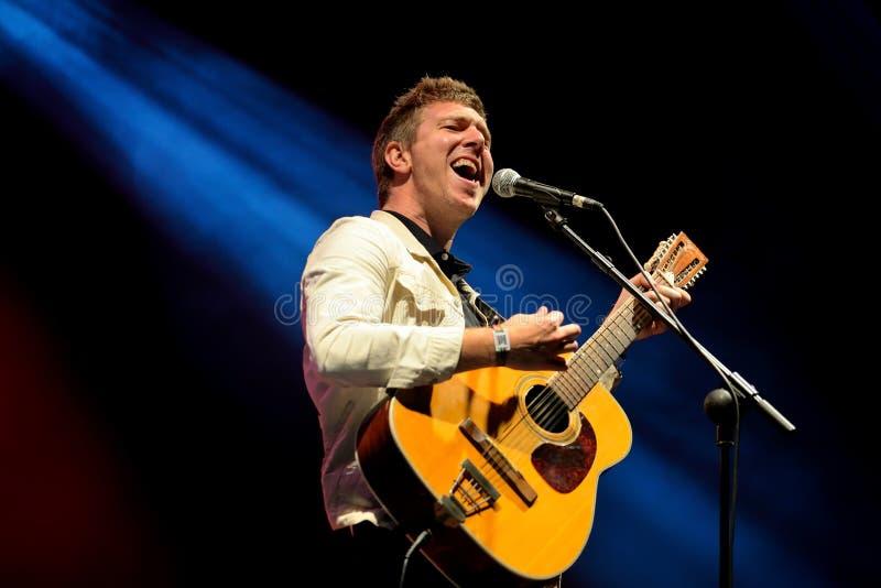 Hamilton Leithauser songwriter performs in concert at Primavera Sound 2017 royalty free stock photos