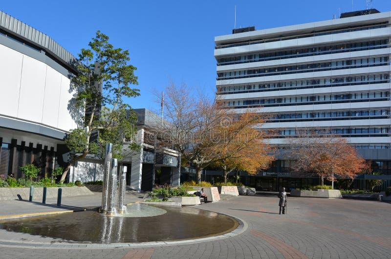 Hamilton pejzaż miejski - Nowa Zelandia fotografia stock