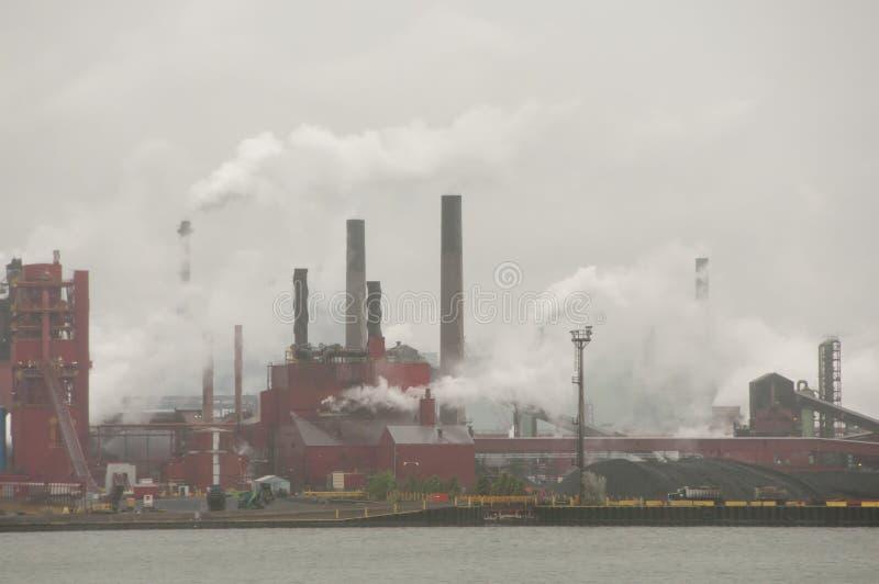 Hamilton Przemysłowy teren - Kanada obraz stock