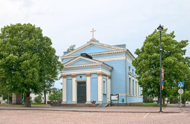 Hamina finland Saint John Church fotos de stock royalty free