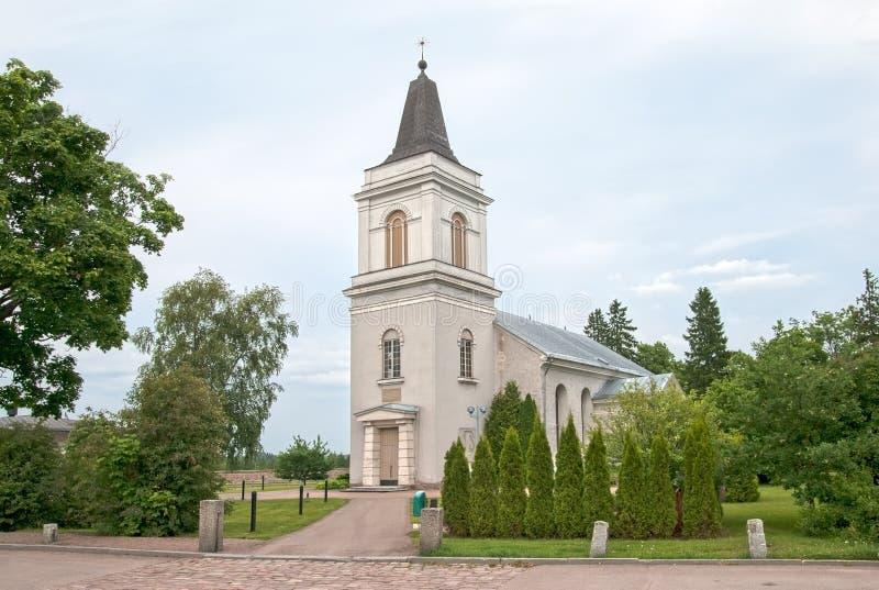 Hamina finland St Mary Church e museu imagens de stock royalty free