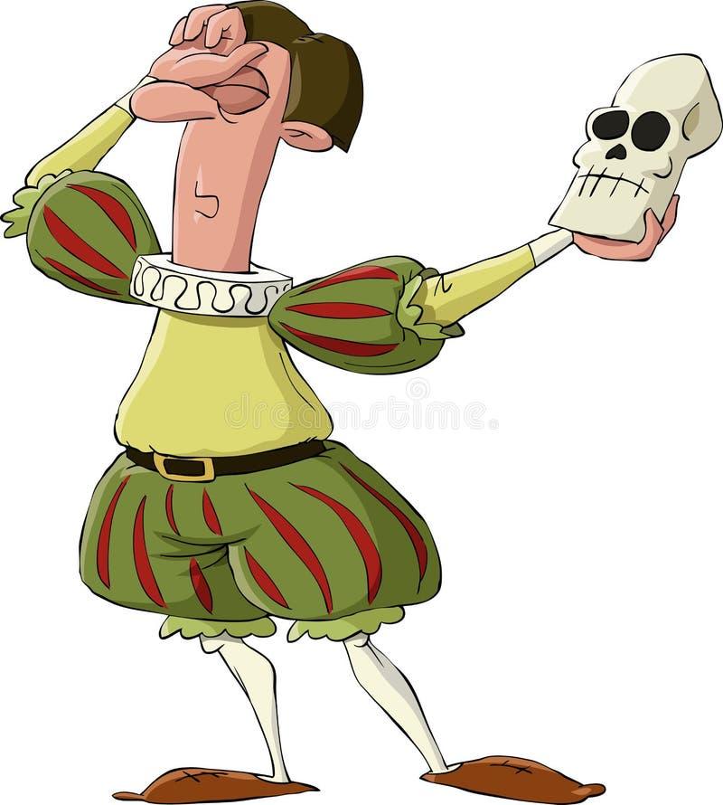 Hamlet vector illustration