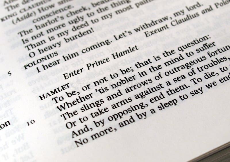 Hamlet imagen de archivo libre de regalías