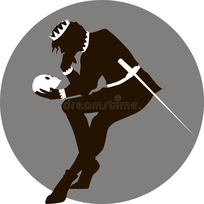 Hamlet stock illustration