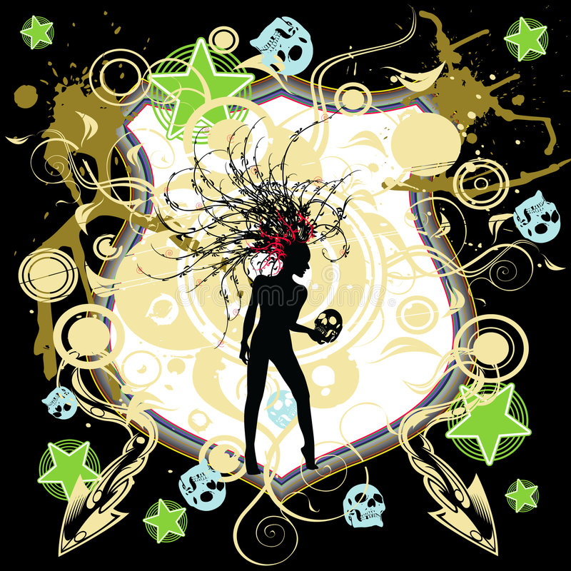 Hamlet theme vector illustration