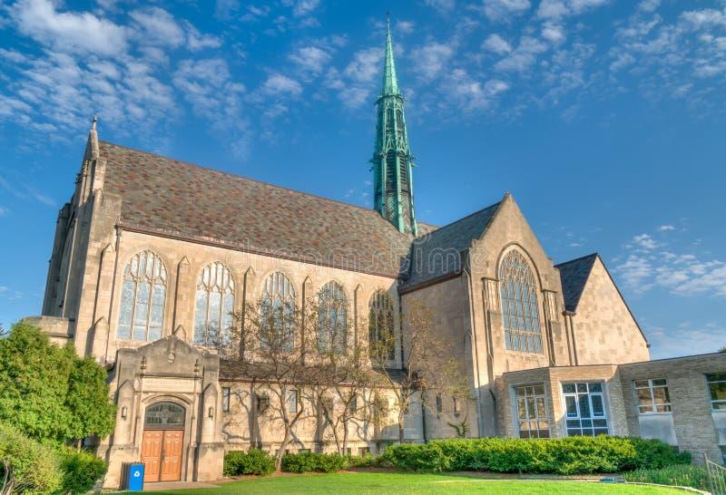 Hamline Jednoczył kościół metodystów obrazy royalty free
