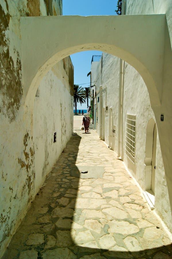 Hammamet Medina stockbilder