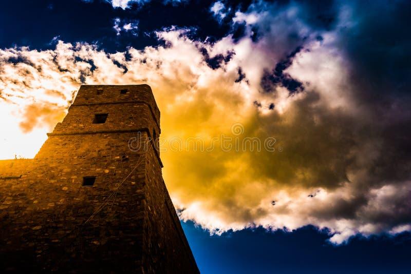 Hammamet, Túnez Imagen de la arquitectura de Medina viejo fotografía de archivo libre de regalías