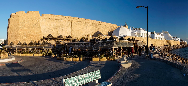 Hammamet, Tunisie royalty free stock images