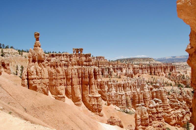 Hammare Bryce Canyon National Park Utah för Thor` s royaltyfri foto