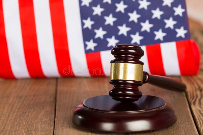 Hammare för domare s arkivbild
