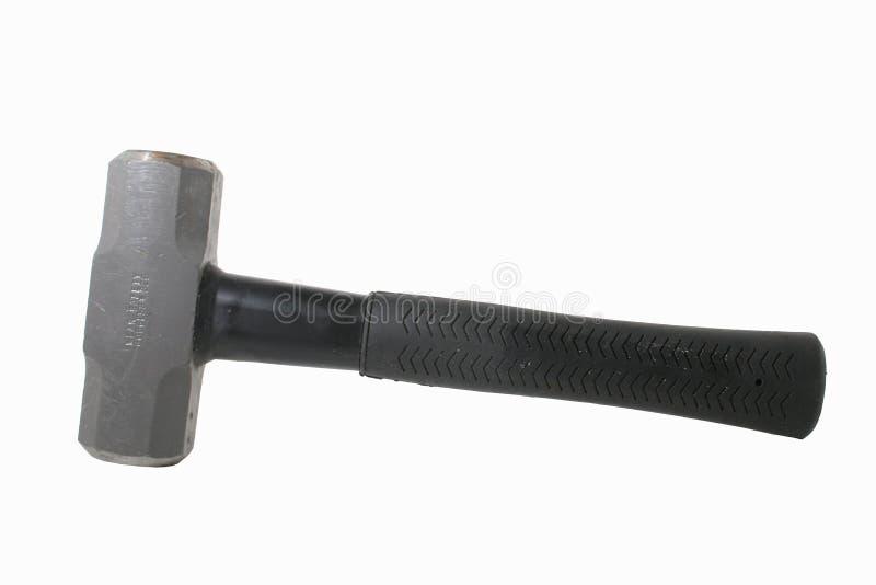hammare isolerad pulka royaltyfria foton