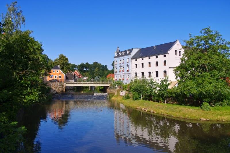 Hammaren maler i Bautzen, Sachsen, Tyskland royaltyfri foto